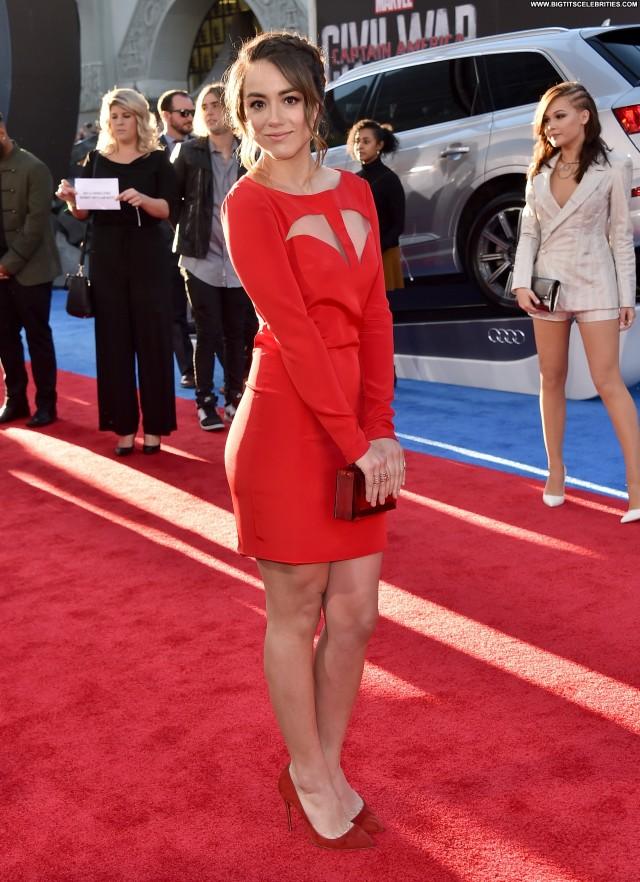 Chloe Bennet In America Nice Posing Hot Celebrity Doll Sultry