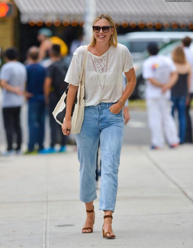 Maria Sharapova Manhattan Celebrity Beautiful Sultry Stunning Fashion