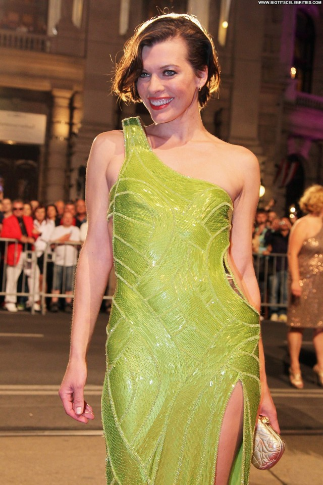 Milla Jovovich The Life Stunning Posing Hot Cute Celebrity Gorgeous