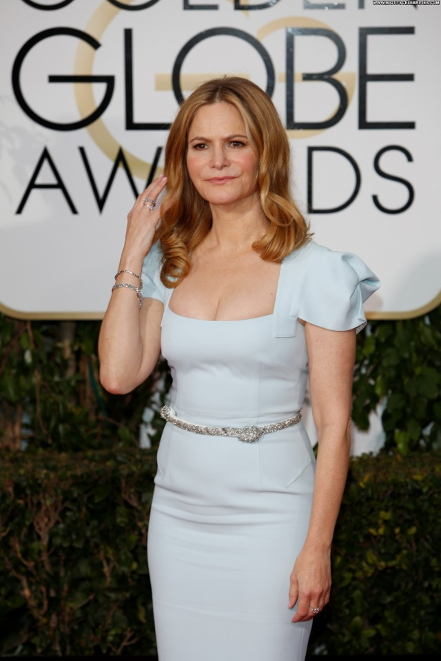 Jennifer Jason Leigh Golden Globe Awards Stunning Celebrity Hotel