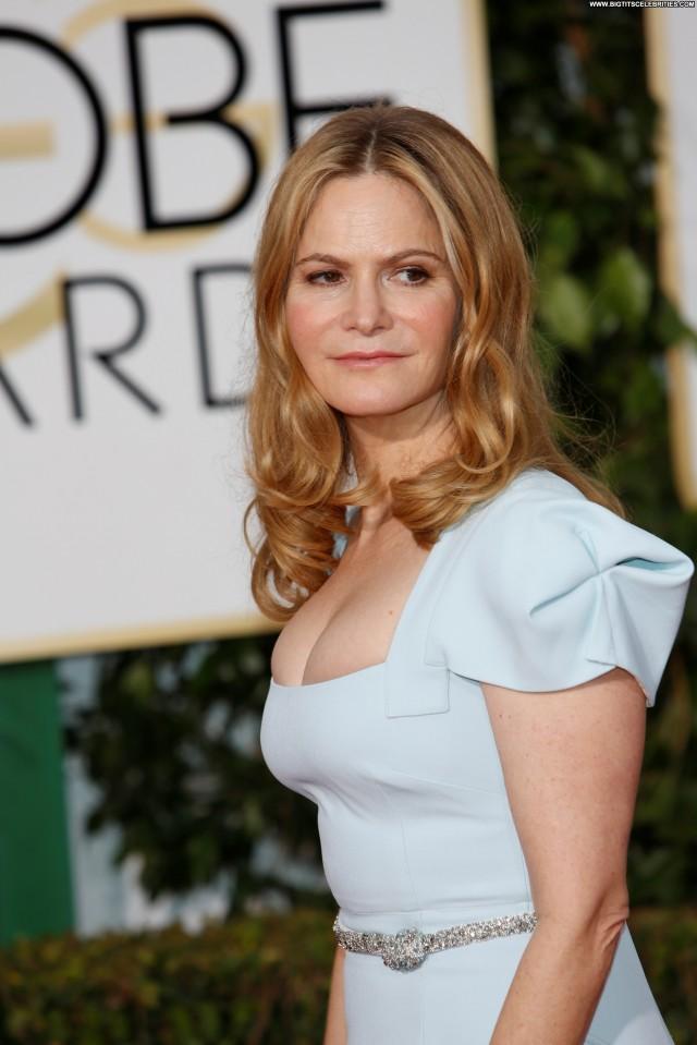Jennifer Jason Leigh Golden Globe Awards Hotel Celebrity Sultry Cute
