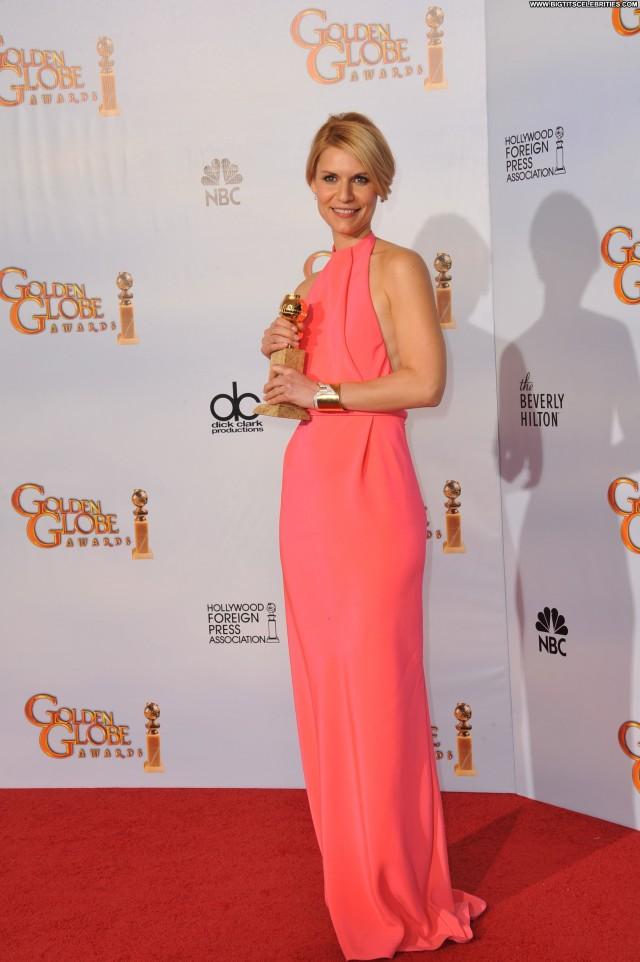 Claire Danes Golden Globe Awards Celebrity Sensual Stunning Sexy