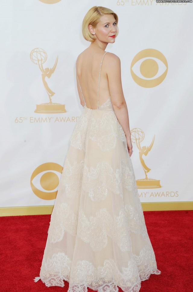 Claire Danes Primetime Emmy Awards Sexy Posing Hot Pretty Awards