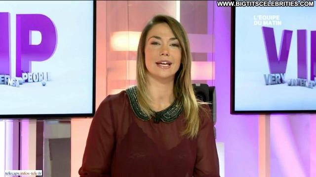 Clio Pajczer L Equipe Du Matin Brunette International Celebrity Big