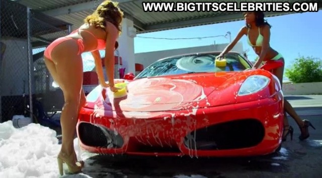 Emma Lane All American Bikini Car Wash Bombshell Big Tits Celebrity