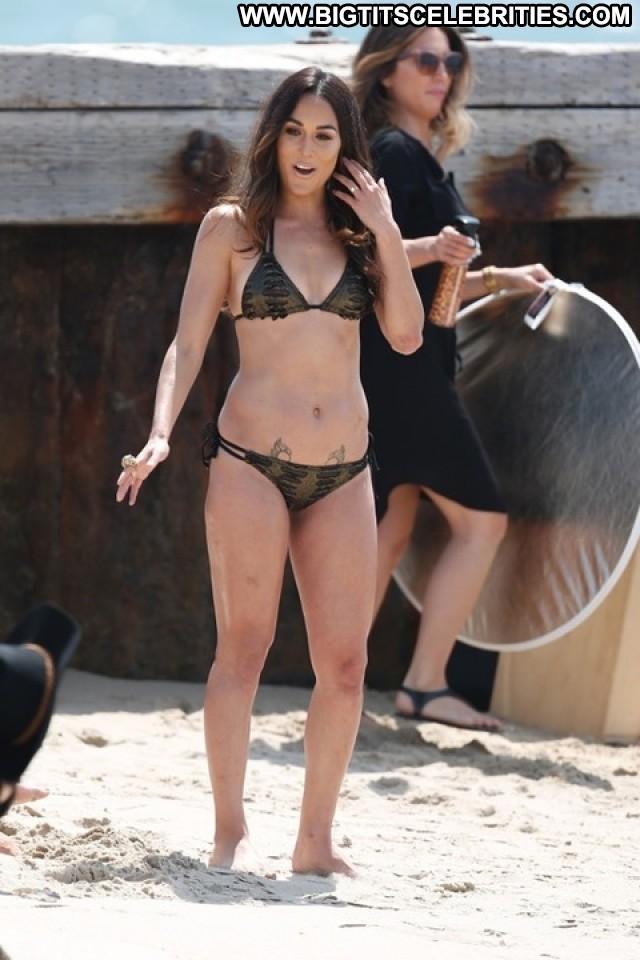 Nikki Bella Miscellaneous Athletic Latina Brunette Celebrity Big Tits