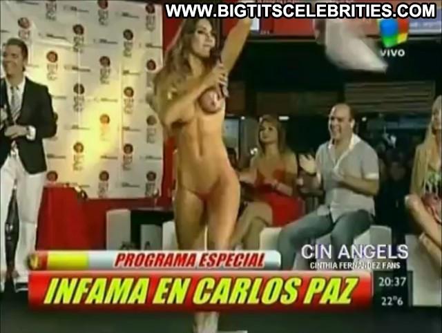 Cinthia Fernandez Infama Skinny Big Tits Latina Hot Celebrity Pretty