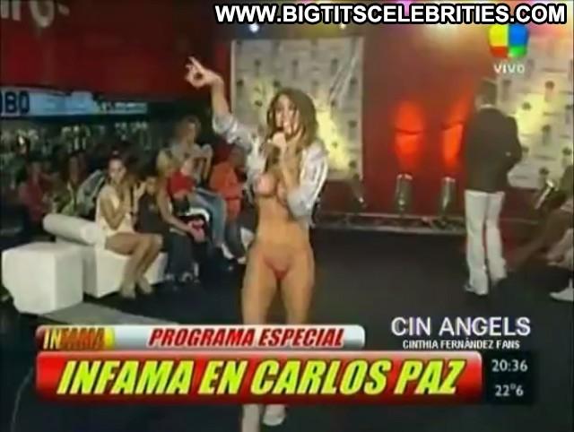 Cinthia Fernandez Infama Big Tits Skinny Pretty Celebrity Latina