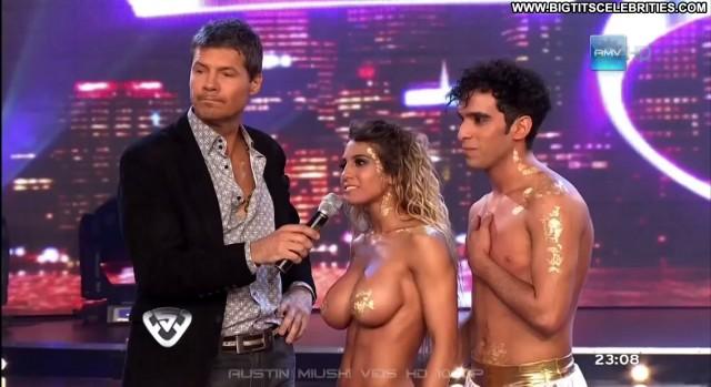 Cinthia Fernandez Bailando Por Un Sue C  B O Colombia Latina Sexy