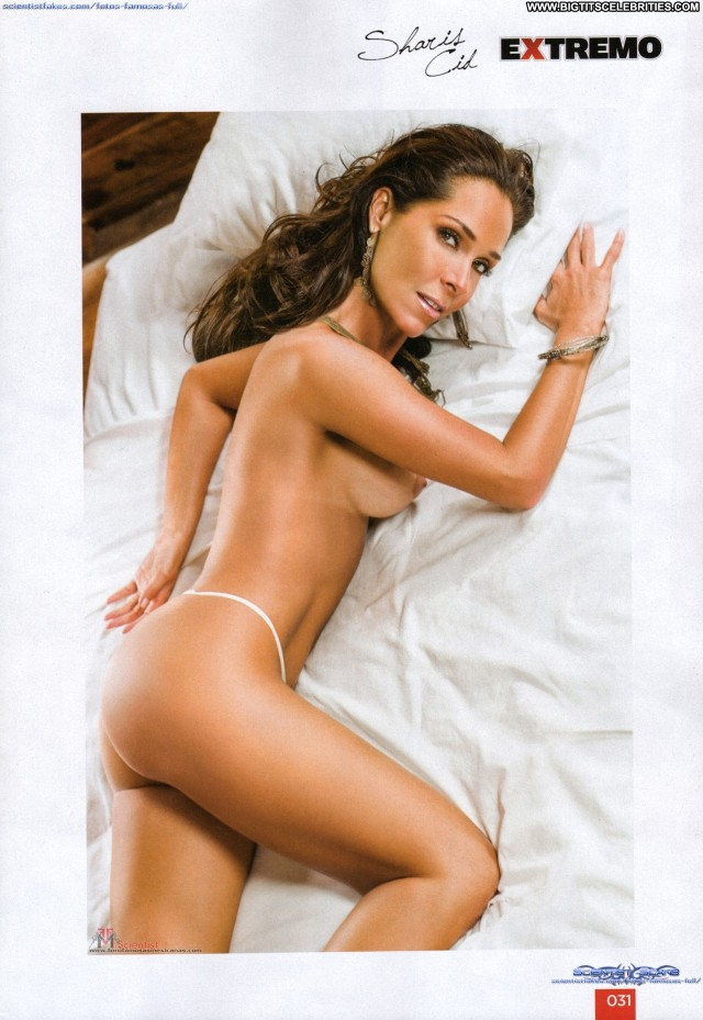 Sharis Cid Miscellaneous Brunette Posing Hot Sexy Celebrity Big Tits
