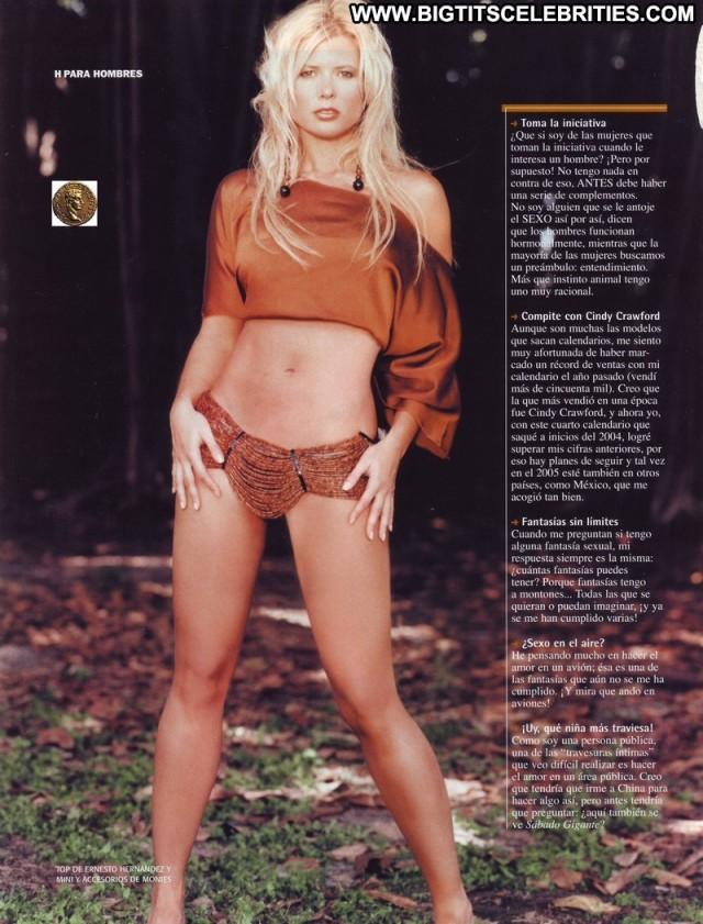 Sissi Fleitas H Para Hombres Latina Celebrity Doll Blonde Big Tits