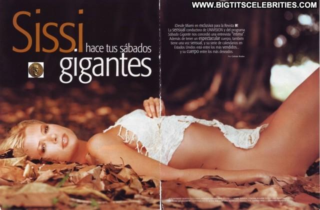 Sissi Fleitas H Para Hombres Blonde Pretty Doll Latina Celebrity Big