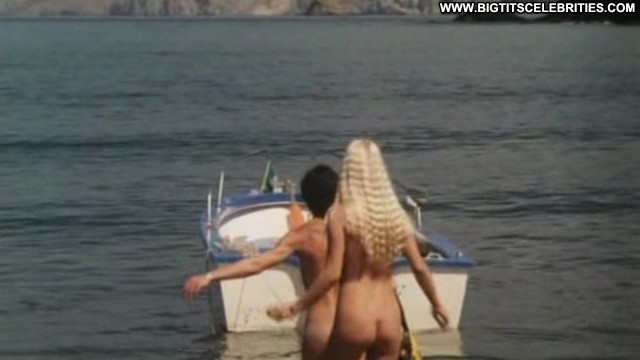 Ilona Staller Senza Buccia Blonde Sensual Sexy Celebrity