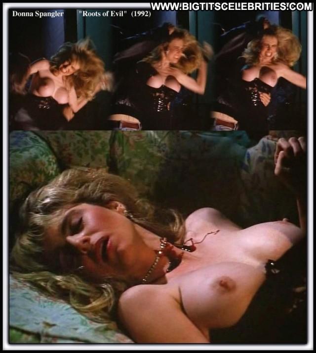 Donna Spangler Roots Of Evil Sultry Bombshell Blonde Big Tits