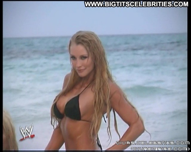Sable Wwe Divas Celebrity Nice Blonde Big Tits Bombshell Sultry