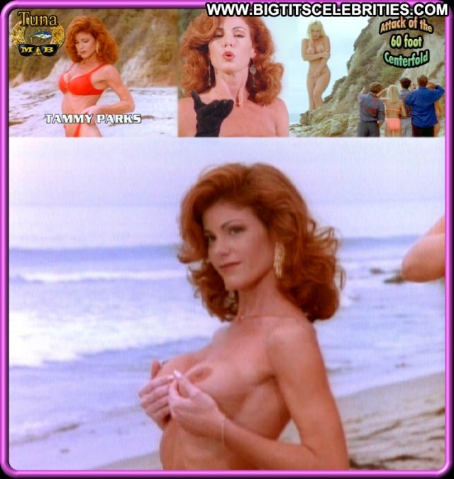 Tammy Parks Attack Of The    Foot Centerfold Redhead Celebrity Big