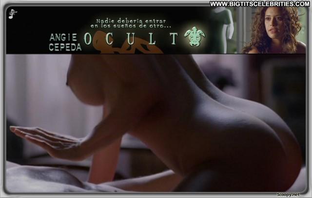 Angie Cepeda Oculto Posing Hot International Brunette Big Tits Latina