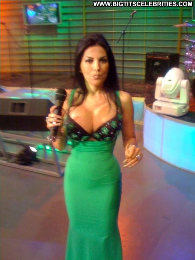 Kristy Rey Miscellaneous Beautiful Brunette Celebrity Big Tits Posing