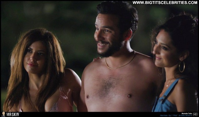 Murielle Telio Red Oaks Big Tits Gorgeous Sensual Celebrity Brunette