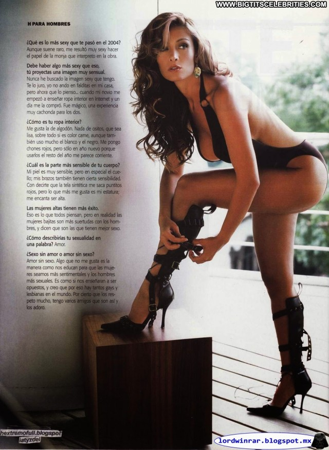 Anette Michel H Para Hombres Latina Celebrity Nice Brunette Sexy Big