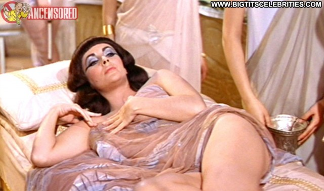 Elizabeth Taylor Cleopatra Celebrity Sexy Brunette Cute Sultry