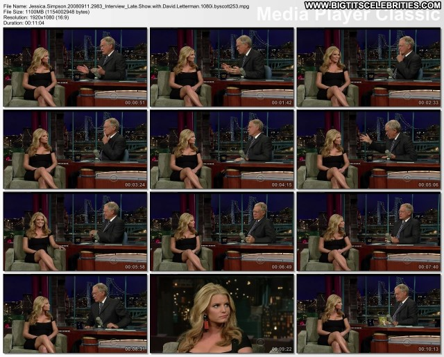 Jessica Simpson The Late Show With David Letterman Big Tits Big Tits