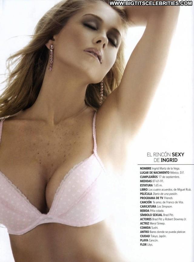 Ingrid Martz Miscellaneous Nice Latina Big Tits Pretty International