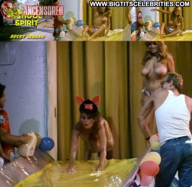 Becky Lebeau School Spirit Sultry Stunning Big Tits Blonde Pretty