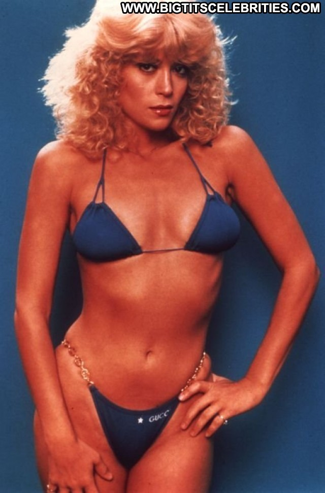 Judy Landers Miscellaneous Posing Hot Blonde Big Tits Celebrity