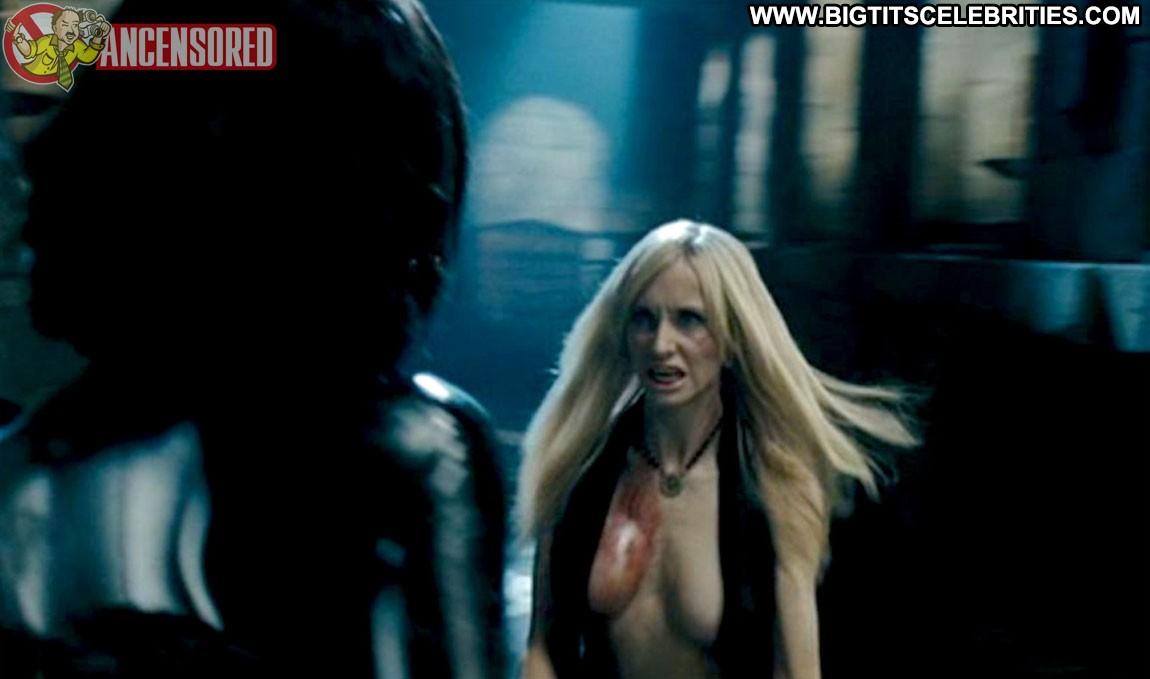 Kaja Gjesdal Underworld Evolution Celebrity Blonde Big Tits Beautiful Doll Sexy Posing Hot