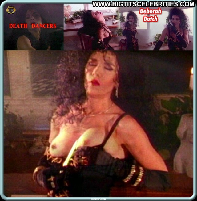 Deborah Dutch Death Dancers Pretty Brunette Celebrity Posing Hot Big
