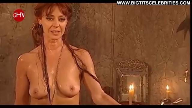 Claudia Di Girolamo La Do C  B A Nice Posing Hot Celebrity Brunette