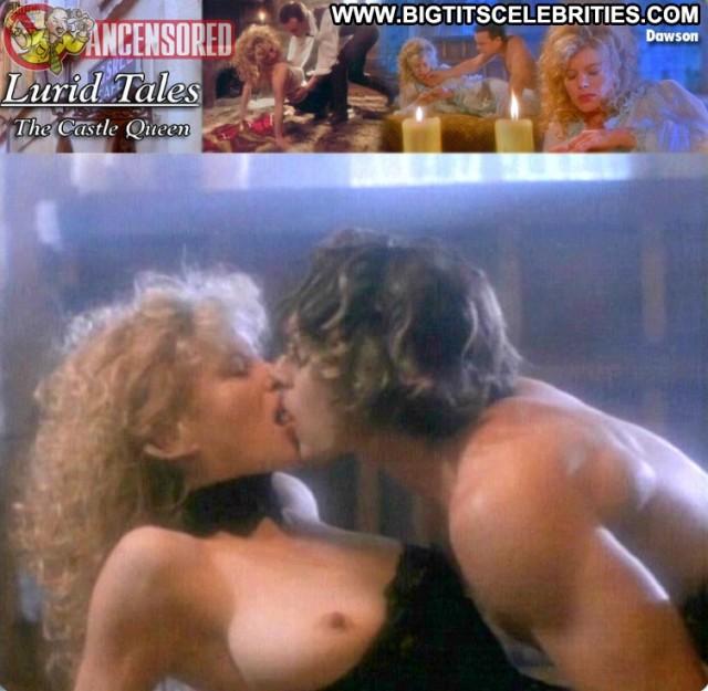 Kim Dawson Lurid Tales The Castle Queen Blonde Celebrity Sensual