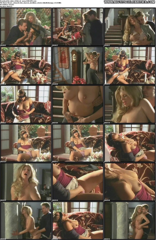 Kim Dawson Bedtime Stories Video Vixen Sensual Big Tits Hot Celebrity