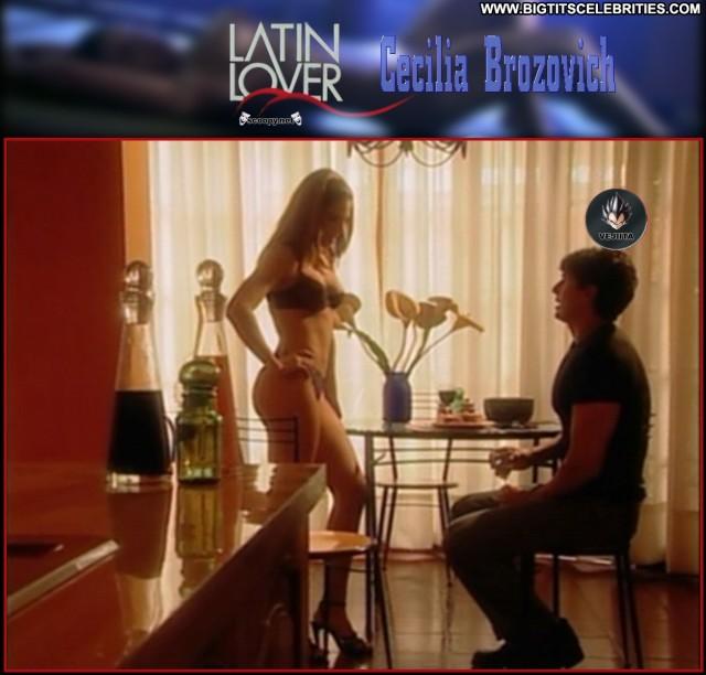 Cecilia Brozovich Latin Lover Redhead Celebrity Pretty Big Tits
