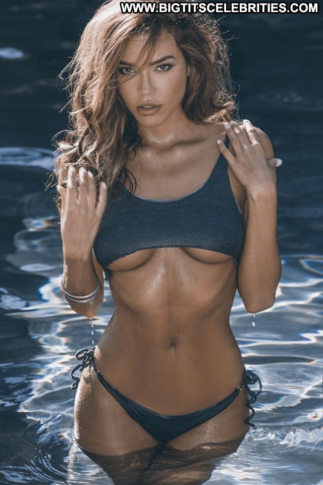 Brittany Binger Miscellaneous Skinny Celebrity Brunette Playmate