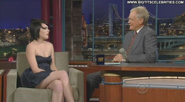 Rumer Willis Late Show With David Letterman Cute Beautiful Brunette