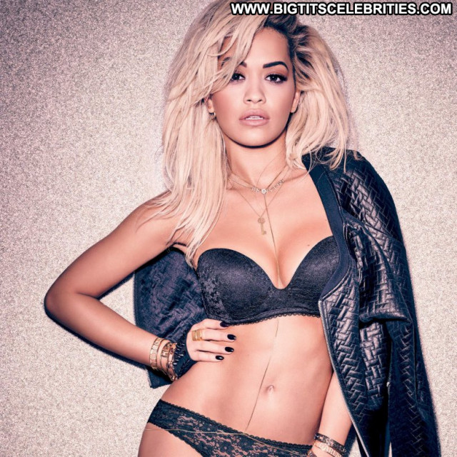 Rita Ora No Source  Sexy Babe Celebrity Beautiful Posing Hot Lingerie