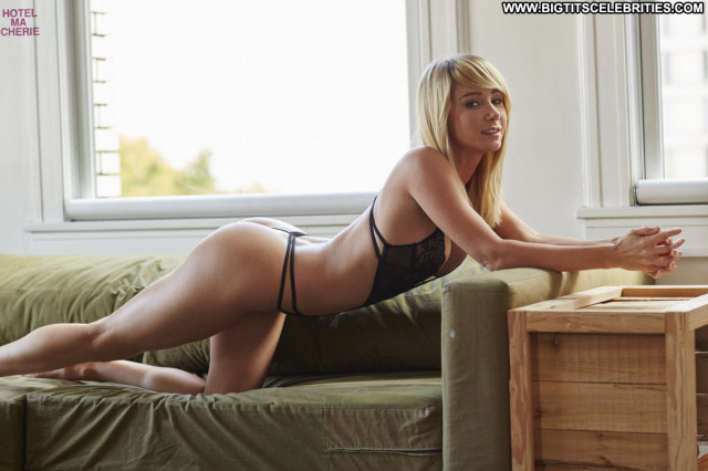 Sara Jean Underwood No Source Photoshoot Celebrity Lingerie Posing