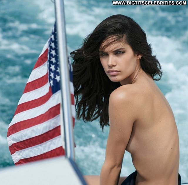 Sara Sampaio No Source Beautiful Magazine Celebrity Uk Babe Posing Hot