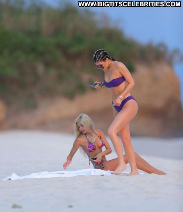 Kylie Jenner No Source Posing Hot Beautiful Bikini Babe Sexy Swimsuit
