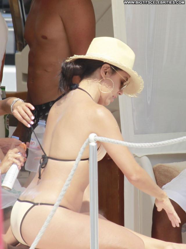 Eva Longoria The Beach Posing Hot Babe Celebrity Sexy Beach Beautiful