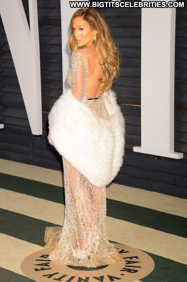 Jennifer Lopez Vanity Fair Party Celebrity Babe Posing Hot Beautiful