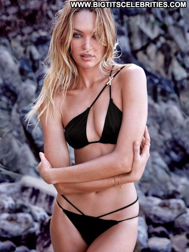 Candice Swanepoel No Source Beautiful Celebrity Babe Posing Hot Bikini