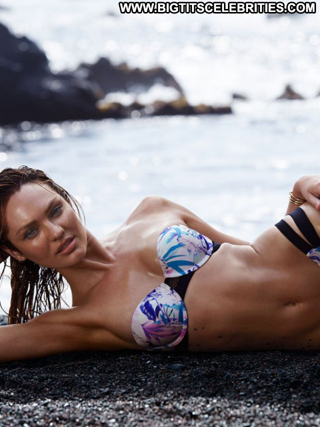 Candice Swanepoel No Source Celebrity Posing Hot Beautiful Bikini Babe