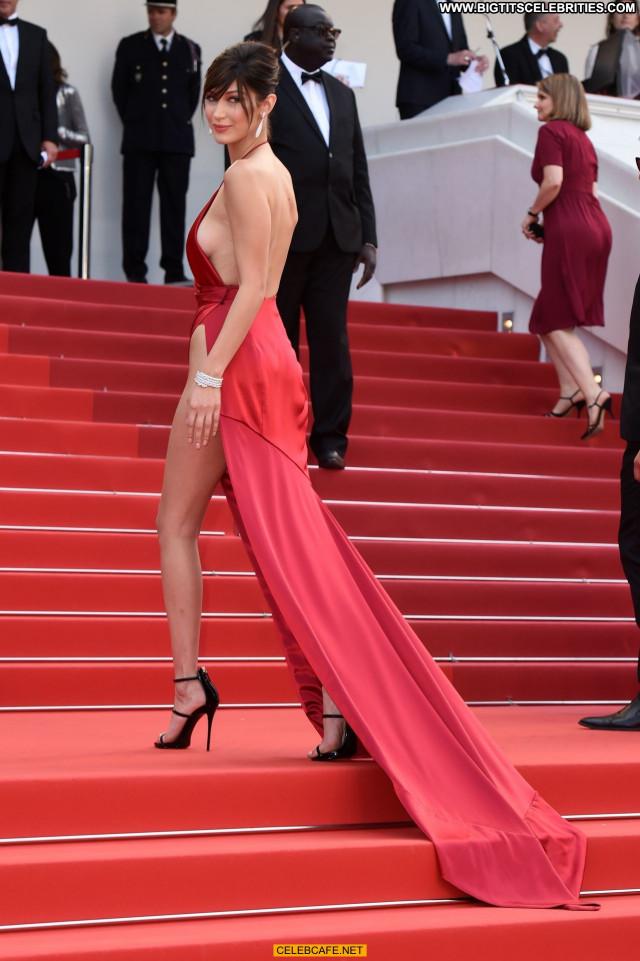 Bella Hadid Cannes Film Festival Sex Beautiful Celebrity Babe Sexy