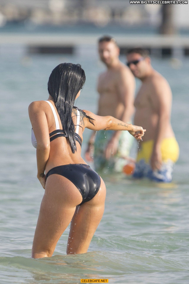 Tulisa Contostavlos No Source  Bikini Beautiful Babe Celebrity Sex