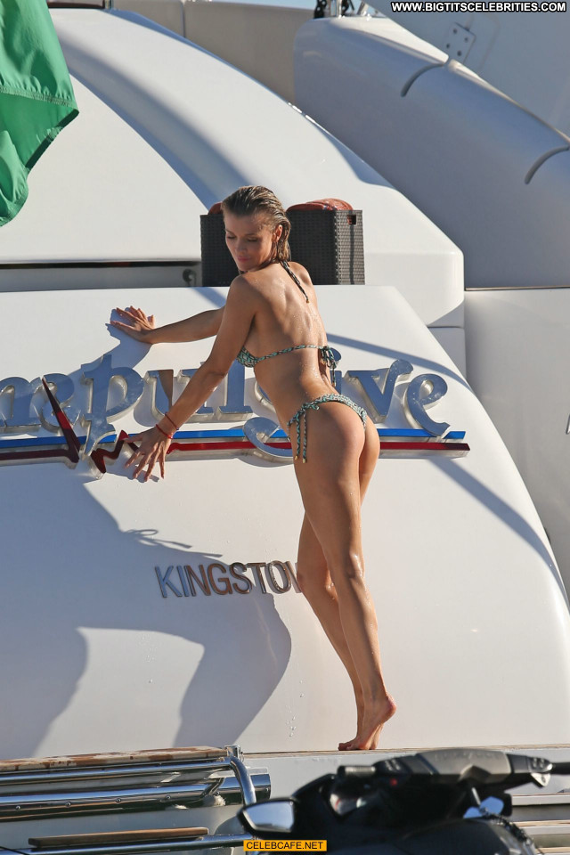 Joanna Krupa No Source  Beautiful Posing Hot Yacht Celebrity Topless
