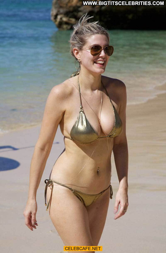 Ashley James No Source Posing Hot Babe Beautiful Celebrity Bikini