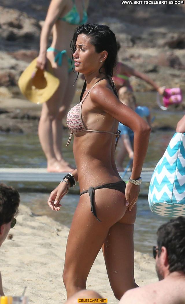 Federica Nargi No Source Celebrity Beach Bikini Beautiful Babe Posing